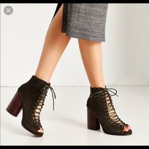 """Jeffrey Campbell """"Free Love""""  lace up heel sandals"""